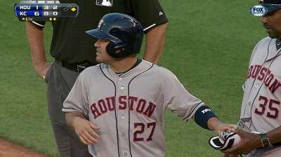 Bedard, Astros can't get started against KC