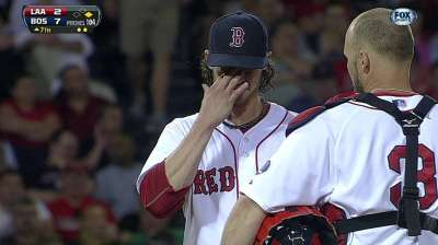 Buchholz has productive throwing session