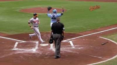 Ofensiva de Orioles fue mucho para Moore y Rays