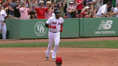 Homers back Dempster as Sox drop Halos