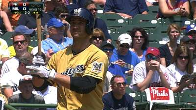 Braun lands on DL for first time in career