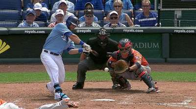 Royals run streak to five with sweep of Astros