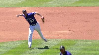 Arenado proud of younger bro, drafted by Giants