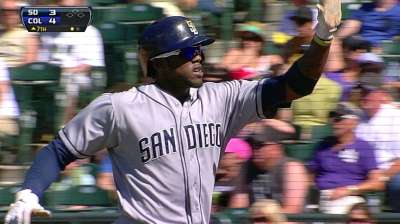 Maybin getting legs back under him at Tucson