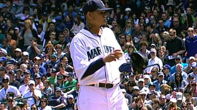 Mariners edged by Yanks after Felix's strong start