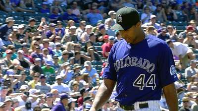 Nicasio's struggles may lead to demotion