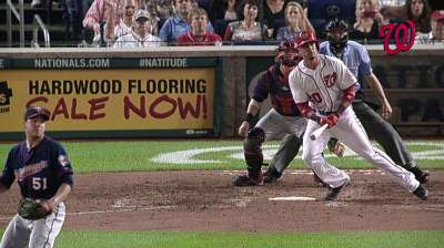 Bullpen, clutch hits lead Nats to 'Twin' bill victory