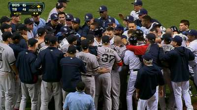 Rays maintain stance on Lackey incident