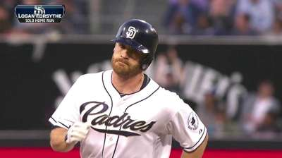 Forsythe homers in season debut to back Marquis