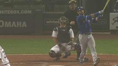 Blue Jays drop opener despite Bautista's big night