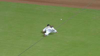 After Crew rally, Marlins win on Stanton's late homer