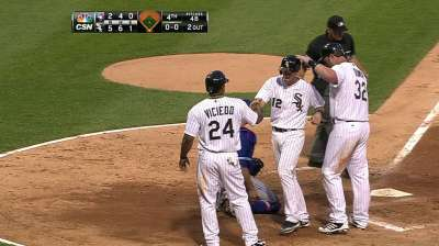 White Sox fall in extras after giving up lead late