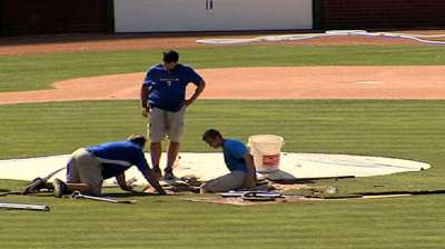 Indians, Rangers cancel BP due to sinkhole