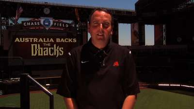 D-backs head to Australia to promote Opening Series