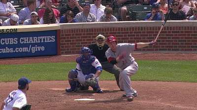 After day off, Frazier regains power stroke