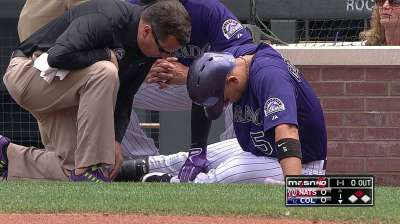 CarGo feeling better, in lineup against Phillies