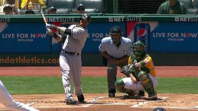 Cano taking measures to solve southpaws