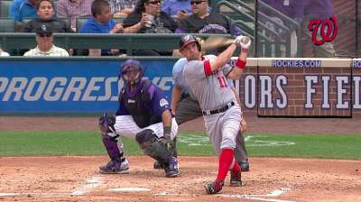 Zim powers Nats to victory in finale at Coors