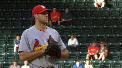 Cardinals make adjustment to pitching plans