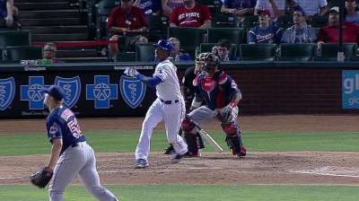 Profar becomes youngest Rangers DH