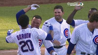 Borbon comes off bench to give Cubs win in extras