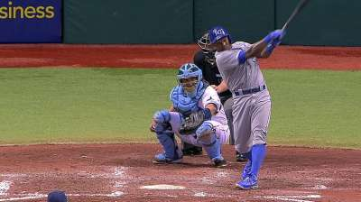 Tejada proving to be a solid reserve for Royals