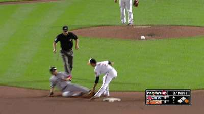 Wieters wins stolen-base showdown with Ellsbury