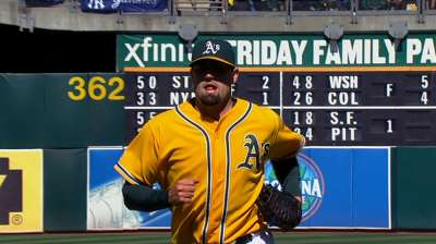 A's designate righty Neshek for assignment