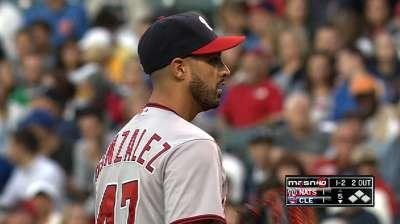 Nats' bats falter as Gio gets tough-luck no-decision
