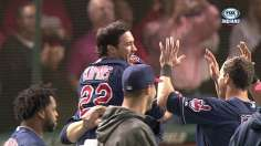 Stubbs' legs give Tribe walk-off win over Nats