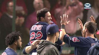 Kipnis, Kluber share AL Player of Week honors