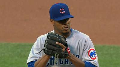 Jackson makes early runs stand up for Cubs