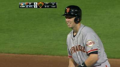 Posey's time at first base expected to increase