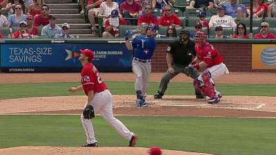Two big swings carry Blue Jays, Dickey to road win