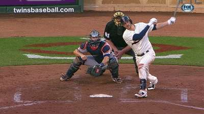 Plouffe leads Twins past Tigers on his birthday