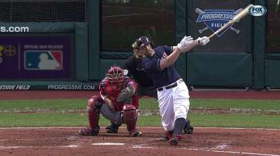 Tribe rallies from five down, but falls to Nats