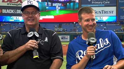 Fathers get 'Royal' treatment with road trip