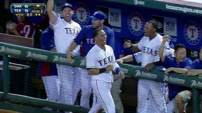 Rangers end slide with Cruz's big day, clutch relief