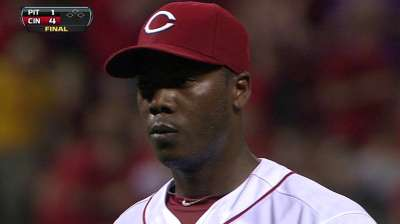 Walker questions intent of Chapman's chin music