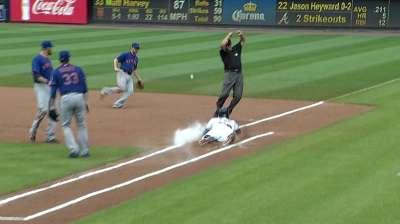 Harvey brilla para darle triunfo a Mets sobre Bravos