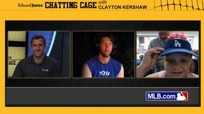 Kershaw answers fans' questions on MLB.com