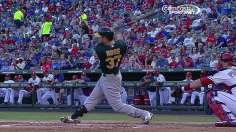 A's roll in Texas behind dealing Parker