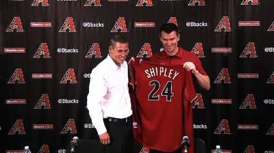 D-backs agree to deal with first-rounder Shipley