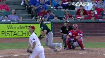 Jaso putting it together at plate in June