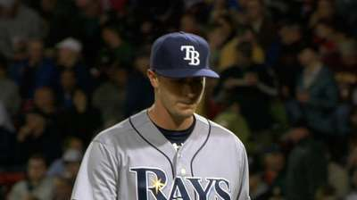 Odorizzi joins Rays in advance of callup, bullpen role