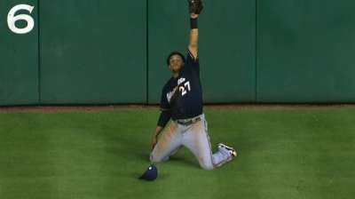 Amazing catch on Tal's Hill not Gomez's favorite
