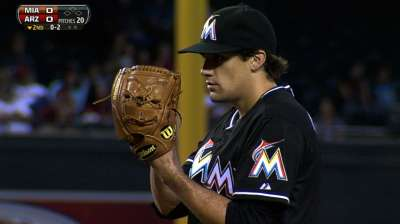 Eovaldi gives Marlins two fireballing starters