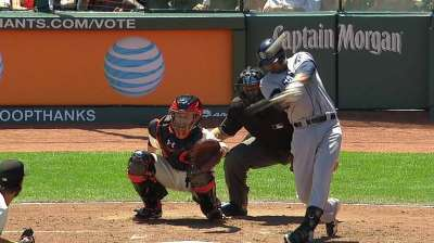 Two homers, sharp Stults not enough in finale
