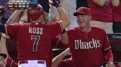 Out of sight: Ross' pinch-hit homer powers D-backs