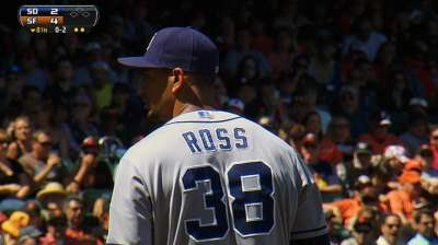 Padres stretching out Ross in Triple-A Tucson